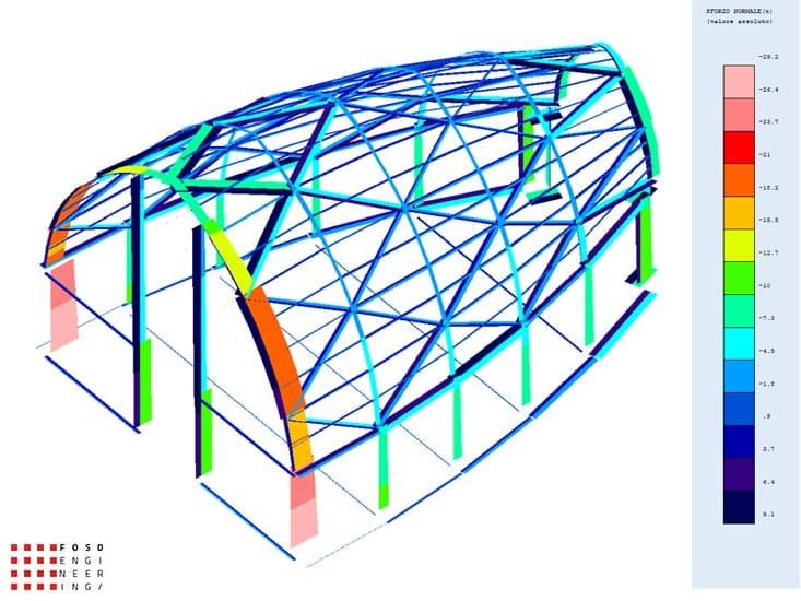 Fosd Engeneering Ingegneria Legno Calcolo Strutturale Progettazione Progetti 2011 Chiesa di Nuova Costruzione Gela (2)