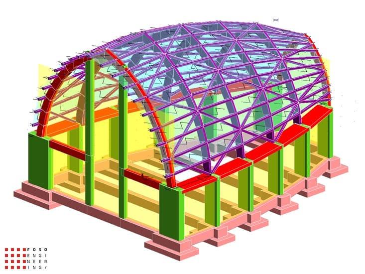 Fosd Engeneering Ingegneria Legno Calcolo Strutturale Progettazione Progetti 2011 Chiesa di Nuova Costruzione Gela (3)