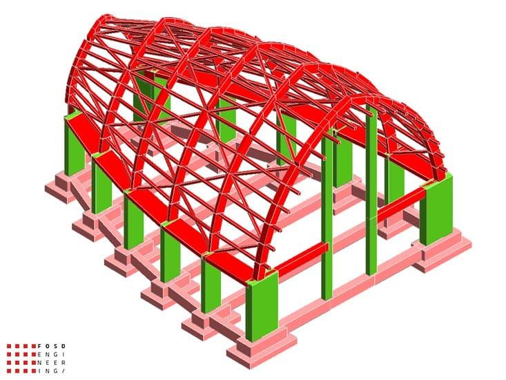 Fosd Engeneering Ingegneria Legno Calcolo Strutturale Progettazione Progetti 2011 Chiesa di Nuova Costruzione Gela (4)