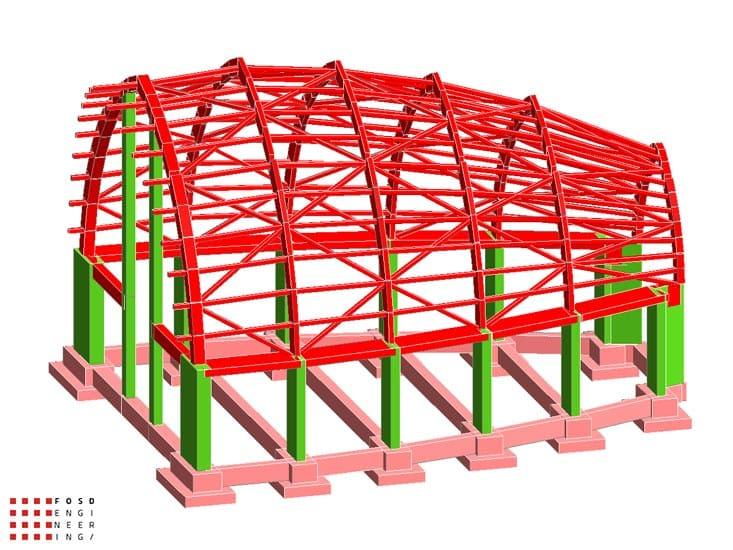 Fosd Engeneering Ingegneria Legno Calcolo Strutturale Progettazione Progetti 2011 Chiesa di Nuova Costruzione Gela (5)