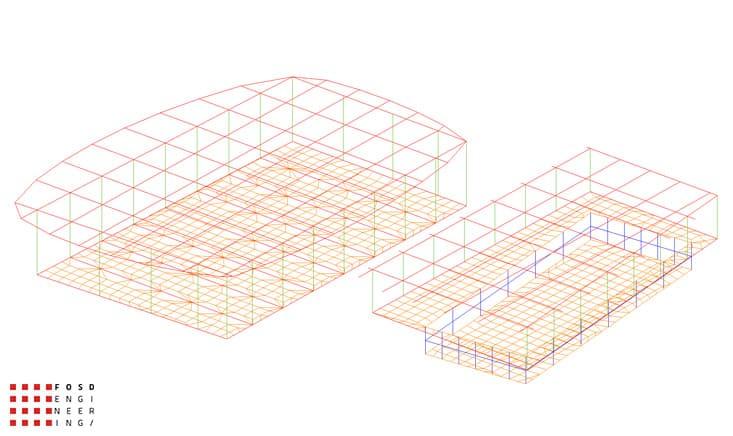 Fosd Engeneering Ingegneria Legno Calcolo Strutturale Progettazione Progetti 2011 Edificio a destinazione sportiva Armenia (11)