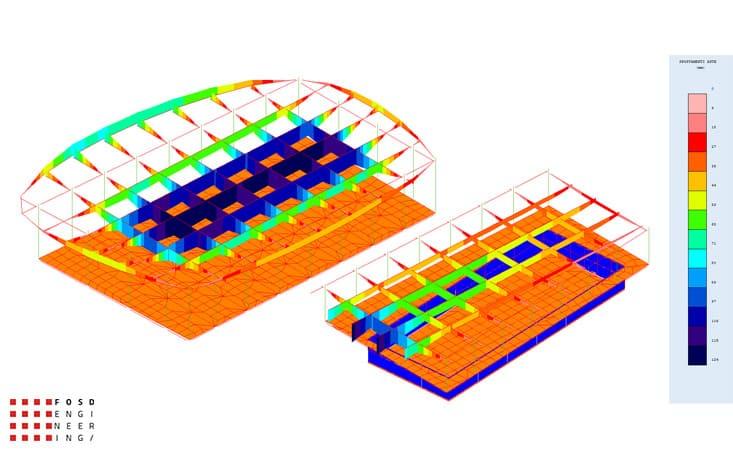 Fosd Engeneering Ingegneria Legno Calcolo Strutturale Progettazione Progetti 2011 Edificio a destinazione sportiva Armenia (17)