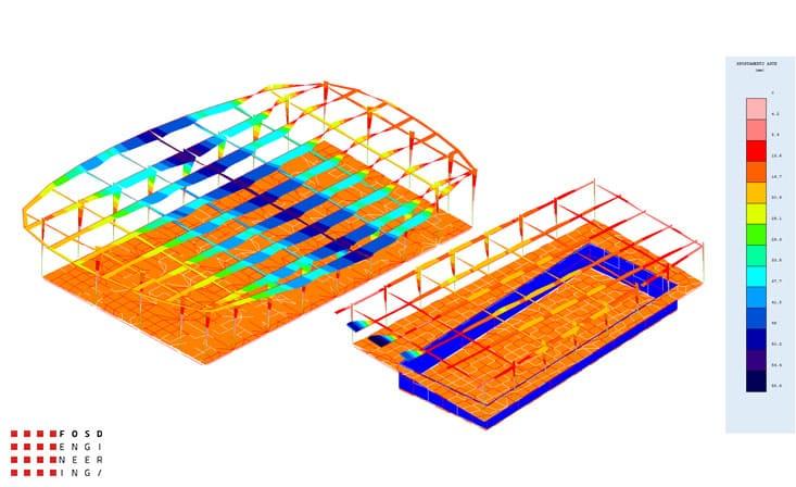 Fosd Engeneering Ingegneria Legno Calcolo Strutturale Progettazione Progetti 2011 Edificio a destinazione sportiva Armenia (19)