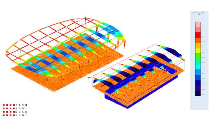 Fosd Engeneering Ingegneria Legno Calcolo Strutturale Progettazione Progetti 2011 Edificio a destinazione sportiva Armenia (21)