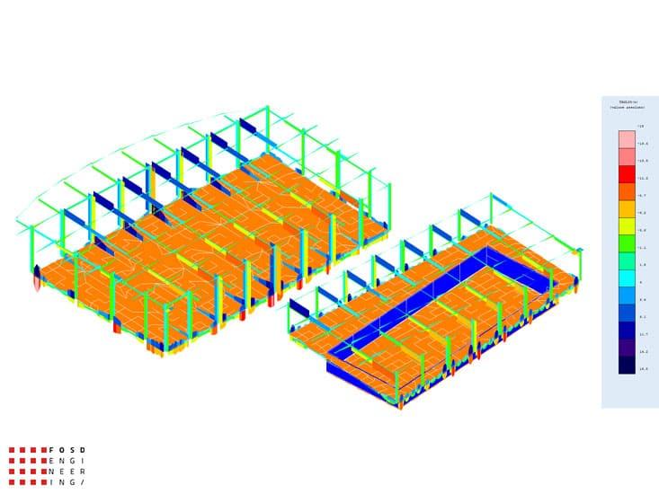 Fosd Engeneering Ingegneria Legno Calcolo Strutturale Progettazione Progetti 2011 Edificio a destinazione sportiva Armenia (23)