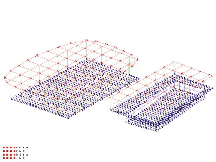 Fosd Engeneering Ingegneria Legno Calcolo Strutturale Progettazione Progetti 2011 Edificio a destinazione sportiva Armenia (27)