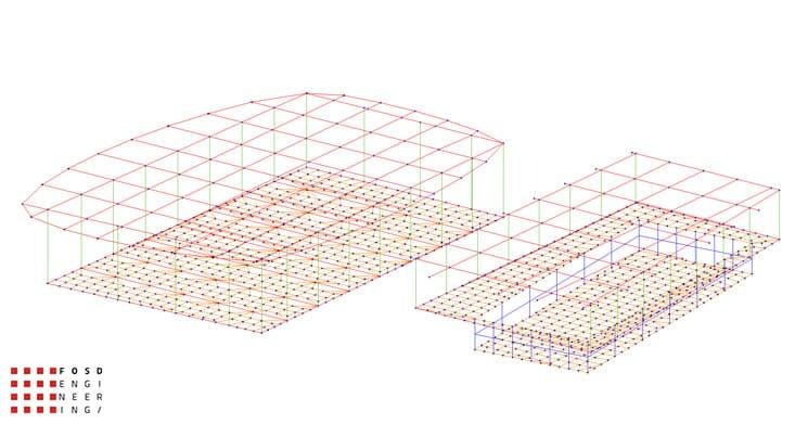Fosd Engeneering Ingegneria Legno Calcolo Strutturale Progettazione Progetti 2011 Edificio a destinazione sportiva Armenia (9)