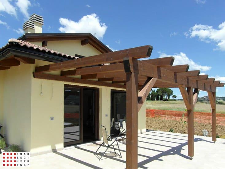Fosd Engeneering Ingegneria Legno Calcolo Strutturale Progettazione Progetti 2011 Villetta Monofamiliare Perugia (4)