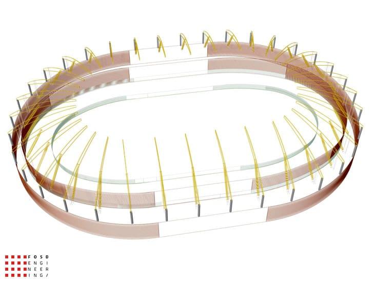 fosd engeneering ingegneria legno calcolo strutturale progettazione progetti 2011 velodromo armenia 3