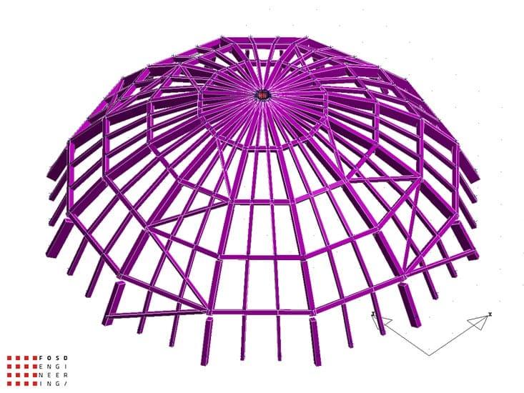 Fosd Engeneering Ingegneria Legno Calcolo Strutturale Progettazione Progetti 2012 Cupola Palermo (1)