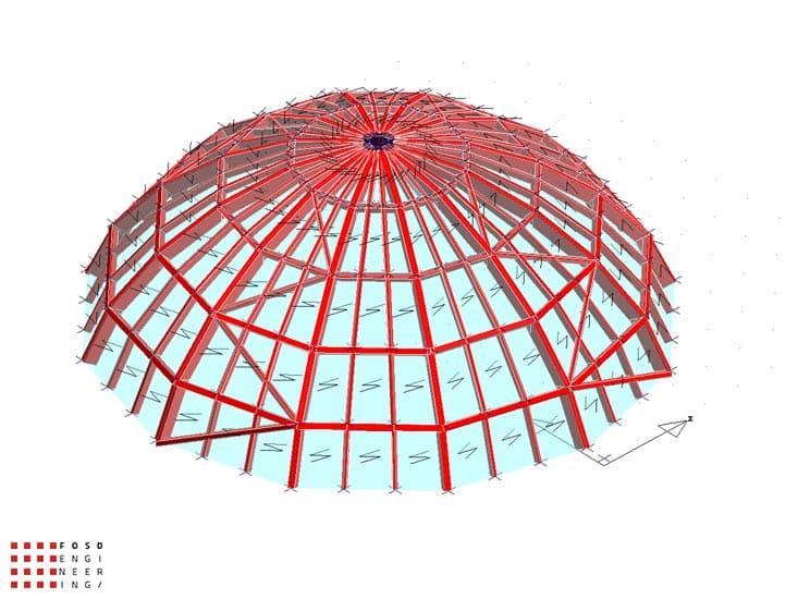 Fosd Engeneering Ingegneria Legno Calcolo Strutturale Progettazione Progetti 2012 Cupola Palermo (5)