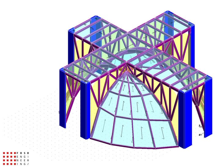 Fosd Engeneering Ingegneria Legno Calcolo Strutturale Progettazione Progetti 2012 Edificio di culto Sassuolo (1)