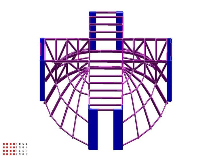 Fosd Engeneering Ingegneria Legno Calcolo Strutturale Progettazione Progetti 2012 Edificio di culto Sassuolo (3)