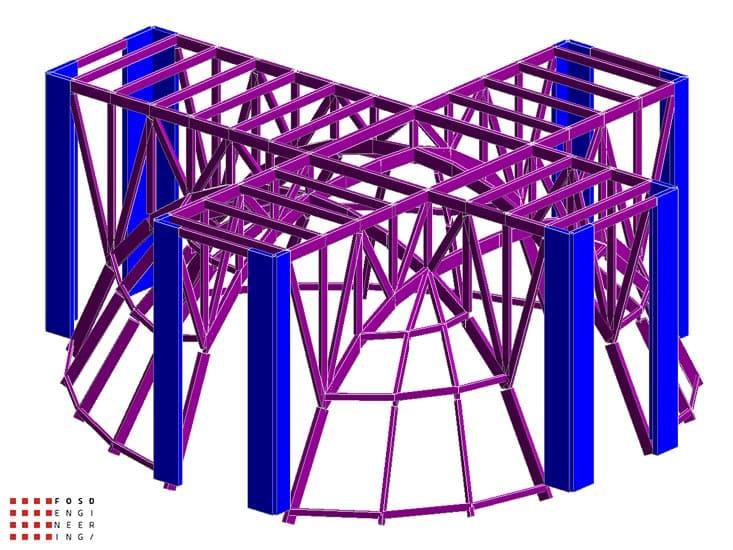 Fosd Engeneering Ingegneria Legno Calcolo Strutturale Progettazione Progetti 2012 Edificio di culto Sassuolo (5)