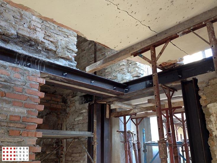 Fosd Engeneering Ingegneria Legno Calcolo Strutturale Progettazione Progetti 2012 Ristrutturazione fabbricato residenziale Fano (3)