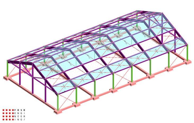 Fosd Engeneering Ingegneria Legno Calcolo Strutturale Progettazione Progetti 2012 Strutture Maneggio Parma(1)