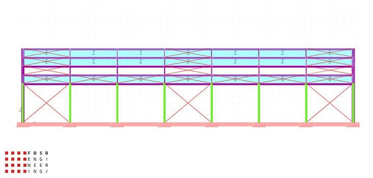 Fosd Engeneering Ingegneria Legno Calcolo Strutturale Progettazione Progetti 2012 Strutture Maneggio Parma(5)