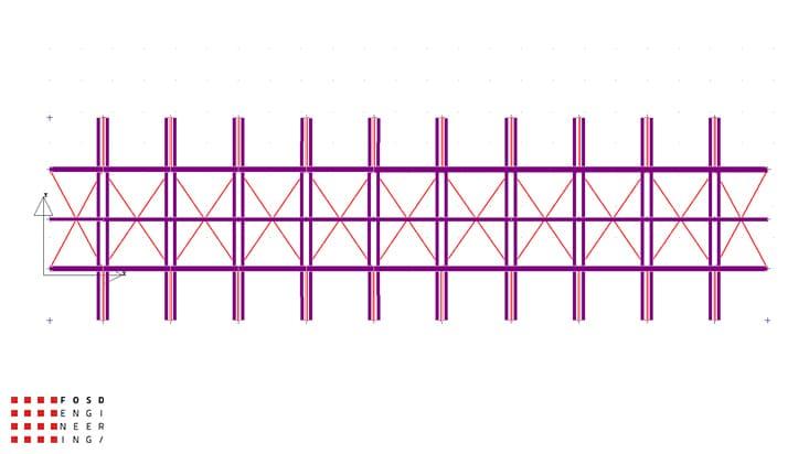 Fosd Engeneering Ingegneria Legno Calcolo Strutturale Progettazione Progetti 2012 Studio di fattibilità passerella pedonale (1)