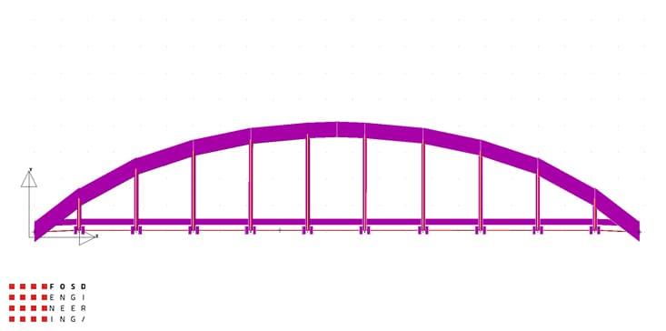 Fosd Engeneering Ingegneria Legno Calcolo Strutturale Progettazione Progetti 2012 Studio di fattibilità passerella pedonale (2)