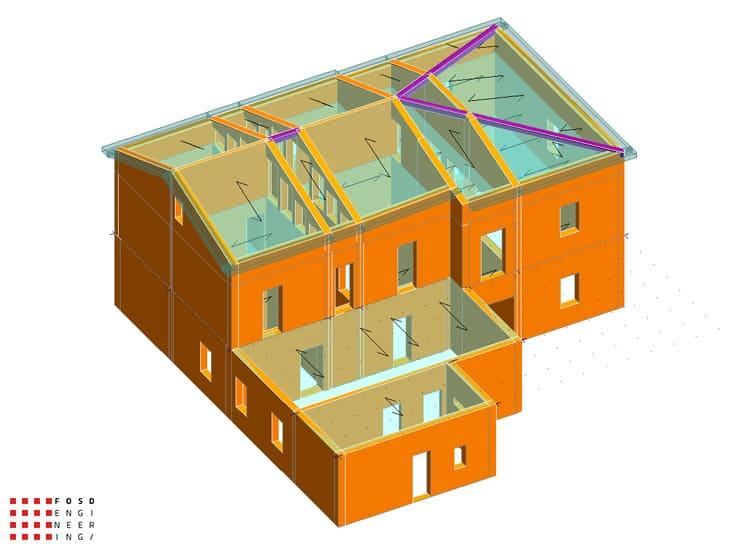 Fosd Engeneering Ingegneria Legno Calcolo Strutturale Progettazione Progetti 2012 Studio di vulnerabilità sismica Fano (4)