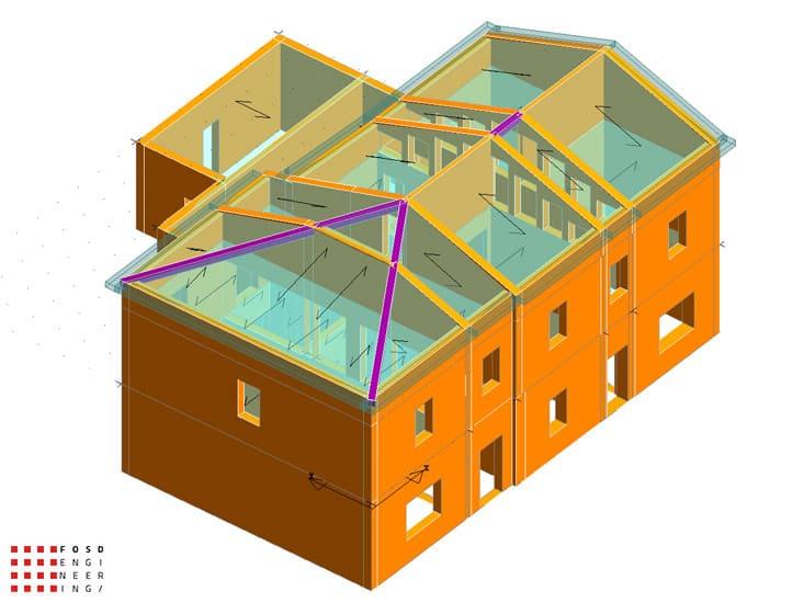 Fosd Engeneering Ingegneria Legno Calcolo Strutturale Progettazione Progetti 2012 Studio di vulnerabilità sismica Fano (5)
