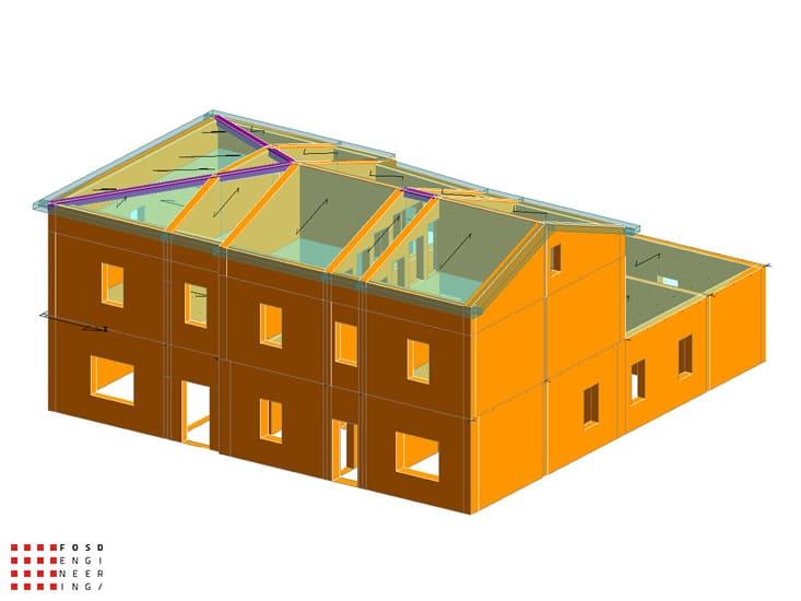 Fosd Engeneering Ingegneria Legno Calcolo Strutturale Progettazione Progetti 2012 Studio di vulnerabilità sismica Fano (6)