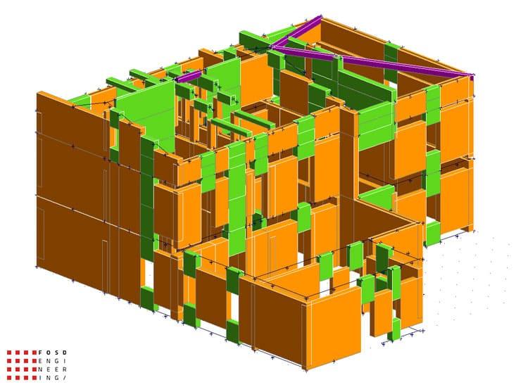 Fosd Engeneering Ingegneria Legno Calcolo Strutturale Progettazione Progetti 2012 Studio di vulnerabilità sismica Fano (8)