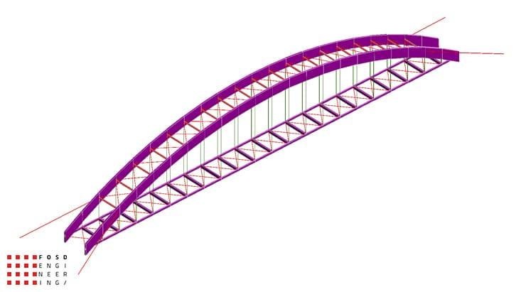Fosd Engeneering Ingegneria Legno Calcolo Strutturale Progettazione Progetti 2012 Studio fattibilità passerella pedonale Millesimo (1)