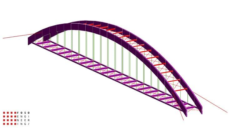 Fosd Engeneering Ingegneria Legno Calcolo Strutturale Progettazione Progetti 2012 Studio fattibilità passerella pedonale Millesimo (2)