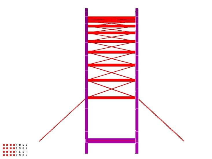 Fosd Engeneering Ingegneria Legno Calcolo Strutturale Progettazione Progetti 2012 Studio fattibilità passerella pedonale Millesimo (4)