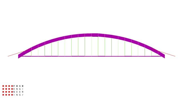 Fosd Engeneering Ingegneria Legno Calcolo Strutturale Progettazione Progetti 2012 Studio fattibilità passerella pedonale Millesimo (5)