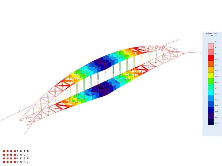Fosd Engeneering Ingegneria Legno Calcolo Strutturale Progettazione Progetti 2012 Studio fattibilità passerella pedonale Millesimo (6)