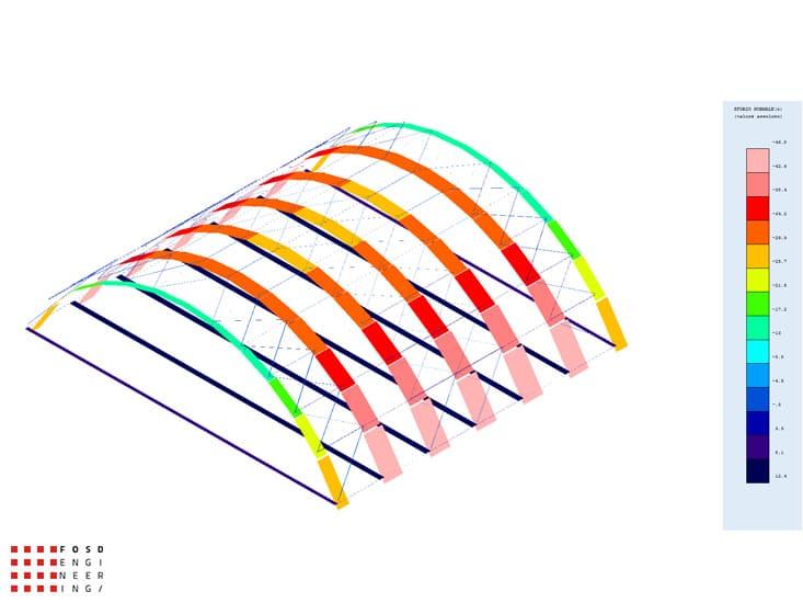 Fosd Engeneering Ingegneria Legno Calcolo Strutturale Progettazione Progetti 2013 Centro sportivo tennis (16)