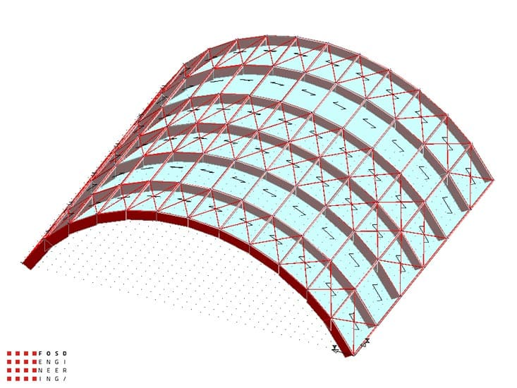 Fosd Engeneering Ingegneria Legno Calcolo Strutturale Progettazione Progetti 2013 Centro sportivo tennis (6)