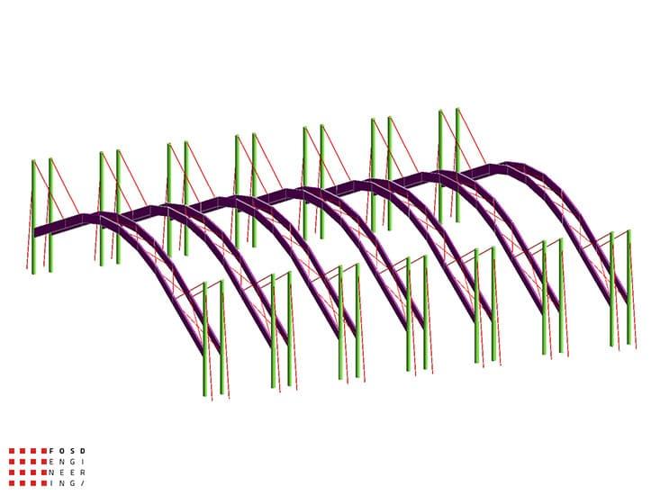 Fosd Engeneering Ingegneria Legno Calcolo Strutturale Progettazione Progetti 2013 Realizzazione Palaghiaccio (3)
