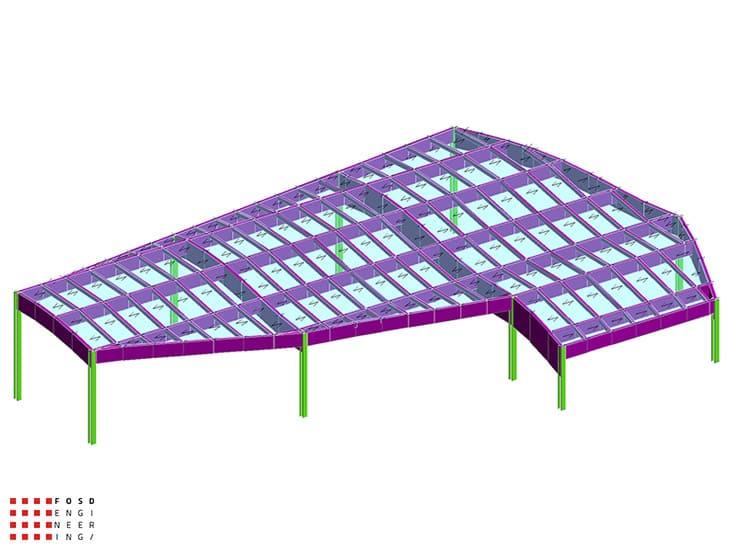 Fosd Engeneering Ingegneria Legno Calcolo Strutturale Progettazione Progetti 2013 Ristorante Foggia (1)