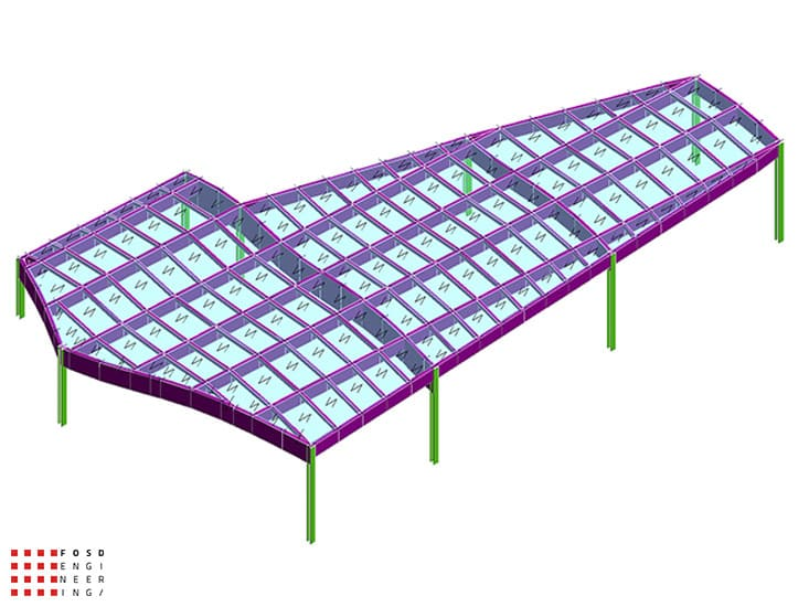 Fosd Engeneering Ingegneria Legno Calcolo Strutturale Progettazione Progetti 2013 Ristorante Foggia (2)