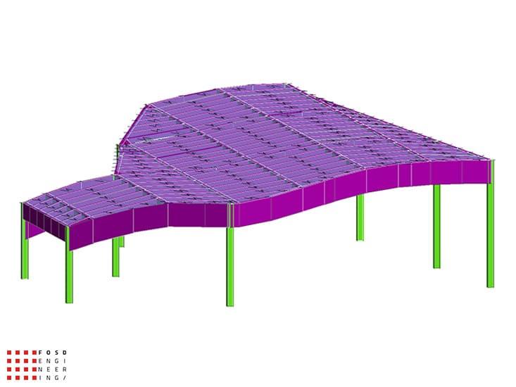 Fosd Engeneering Ingegneria Legno Calcolo Strutturale Progettazione Progetti 2013 Ristorante Foggia (3)