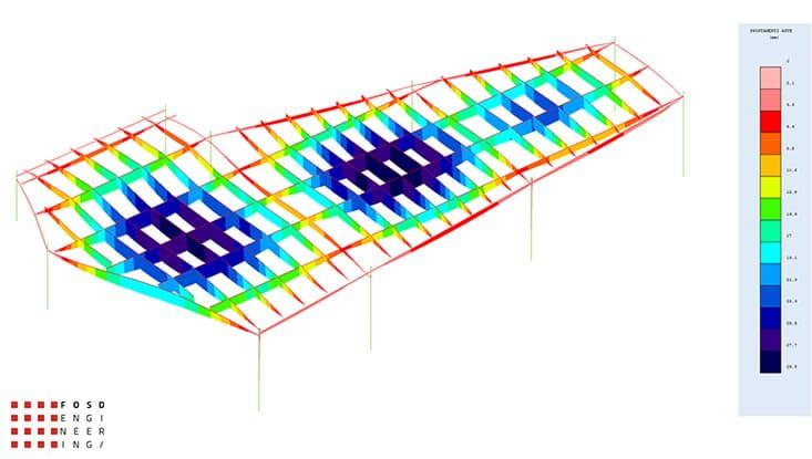 Fosd Engeneering Ingegneria Legno Calcolo Strutturale Progettazione Progetti 2013 Ristorante Foggia (5)