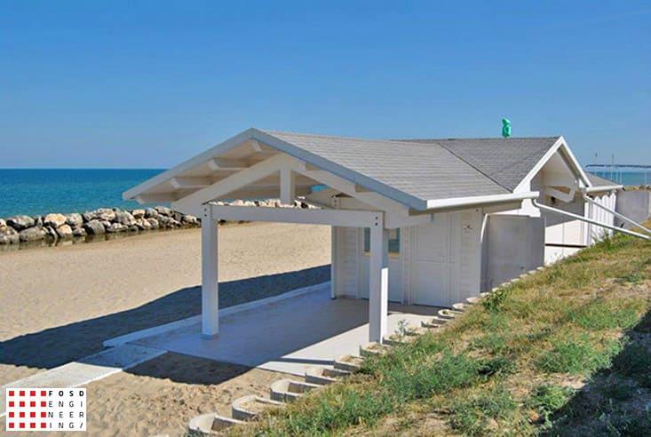 Fosd Engeneering Ingegneria Legno Calcolo Strutturale Progettazione Progetti 2013 Struttura stabilimento balneare Fano (3)