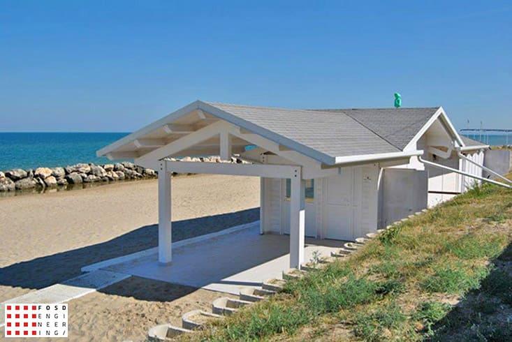 Fosd Engeneering Ingegneria Legno Calcolo Strutturale Progettazione Progetti 2013 Struttura stabilimento balneare Fano (4)