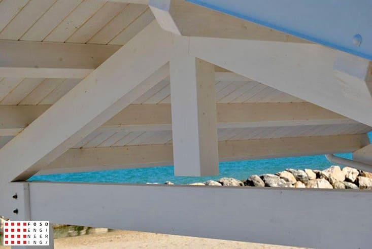 Fosd Engeneering Ingegneria Legno Calcolo Strutturale Progettazione Progetti 2013 Struttura stabilimento balneare Fano (5)