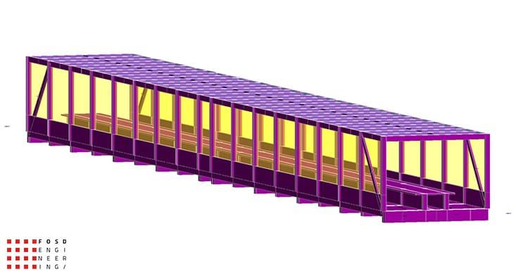 Fosd Engeneering Ingegneria Legno Calcolo Strutturale Progettazione Progetti 2013 Studio Fattibilità passerella Doha(2)