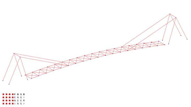 Fosd Engeneering Ingegneria Legno Calcolo Strutturale Progettazione Progetti 2013 Studio fattibilità passerella pedonale (6)