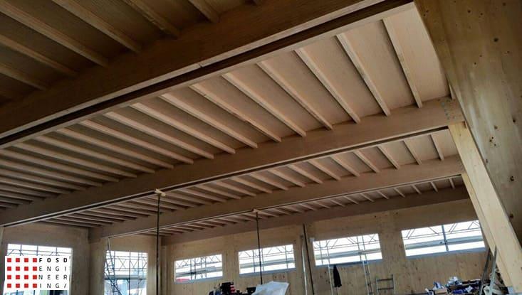 Fosd Engeneering Ingegneria Legno Calcolo Strutturale Progettazione Progetti 2014 Capannone San Mauro Pascoli (5)