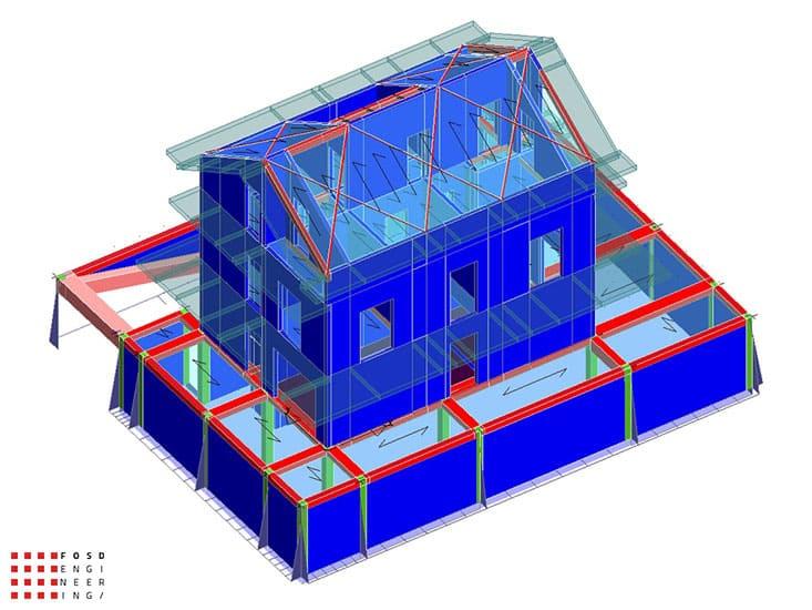 Fosd Engeneering Ingegneria Legno Calcolo Strutturale Progettazione Progetti 2014 Villa al Mare Marotta (17)