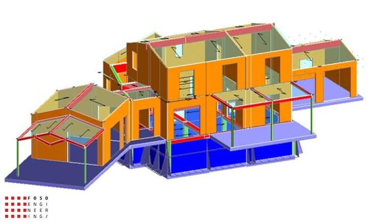 Fosd Engeneering Ingegneria Legno Calcolo Strutturale Progettazione Progetti 2014 Villa al Mare Marotta (19)