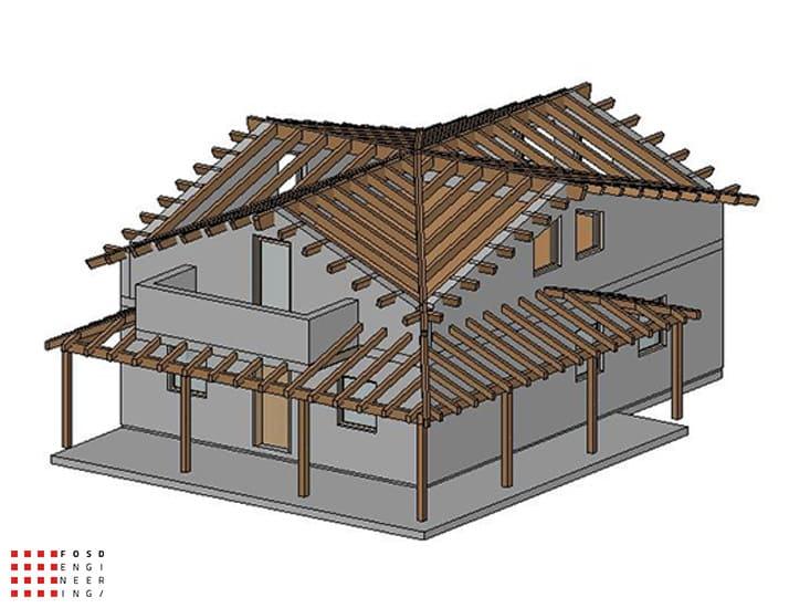 Fosd Engeneering Ingegneria Legno Calcolo Strutturale Progettazione Progetti 2014 Progettazione villa unifamiliare Pesaro (21)