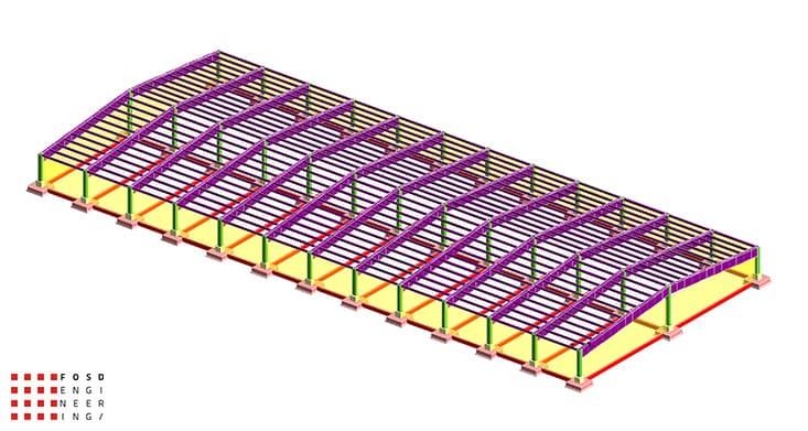 Fosd Engeneering Ingegneria Legno Calcolo Strutturale Progettazione Progetti Edificio Industriale (1)