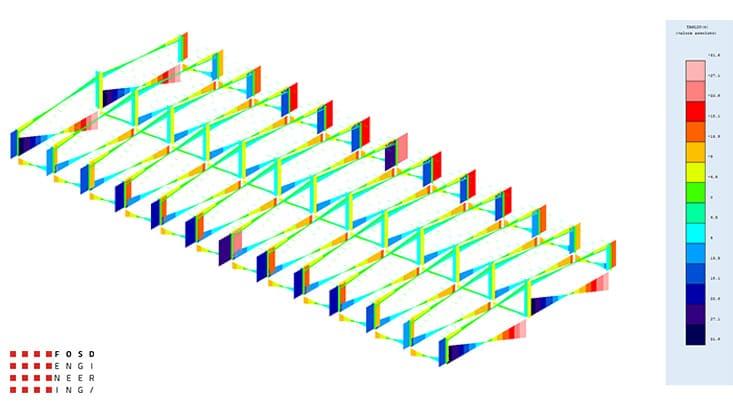 Fosd Engeneering Ingegneria Legno Calcolo Strutturale Progettazione Progetti Edificio Industriale (10)
